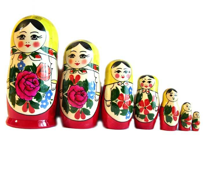 Матрешка Россияночка, 7 мест, фото 3