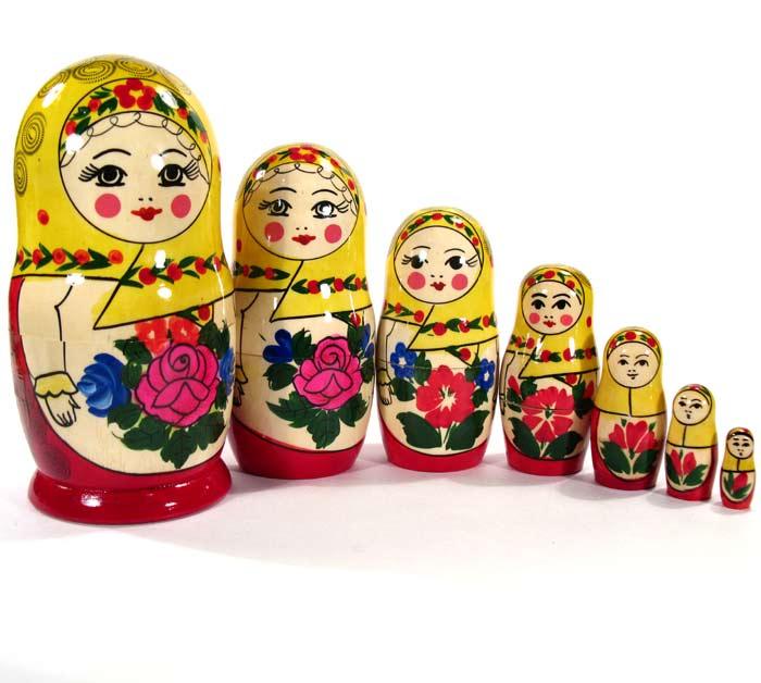 Матрешка Настя, 7 местная, фото 4