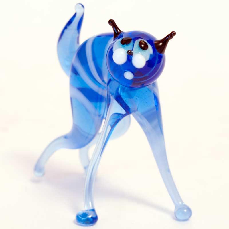 Синий кот фигурка Коты