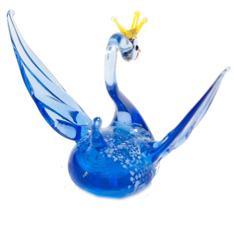 Фигурка синий Лебедь, фото 3