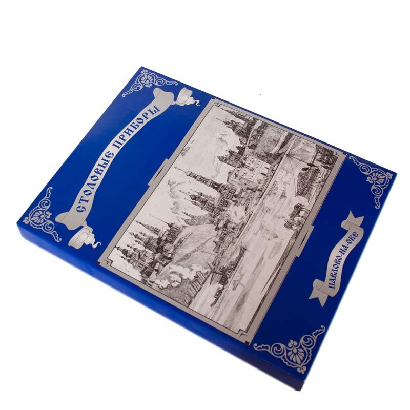 Набор чайный 13 предметов с росписью и покрытием, фото 3