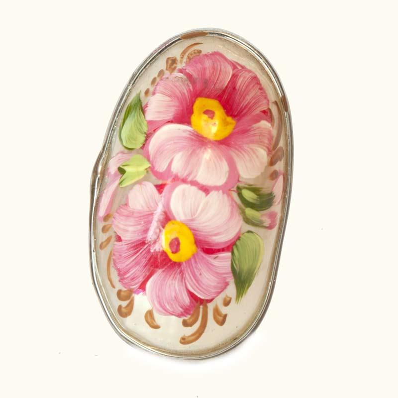 Кольцо розовые розы, фото 2