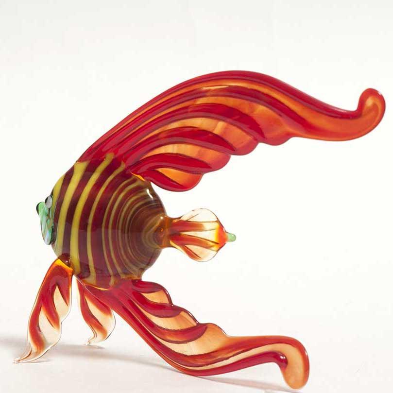 Фигурка рыба скалярия красная, фото 2