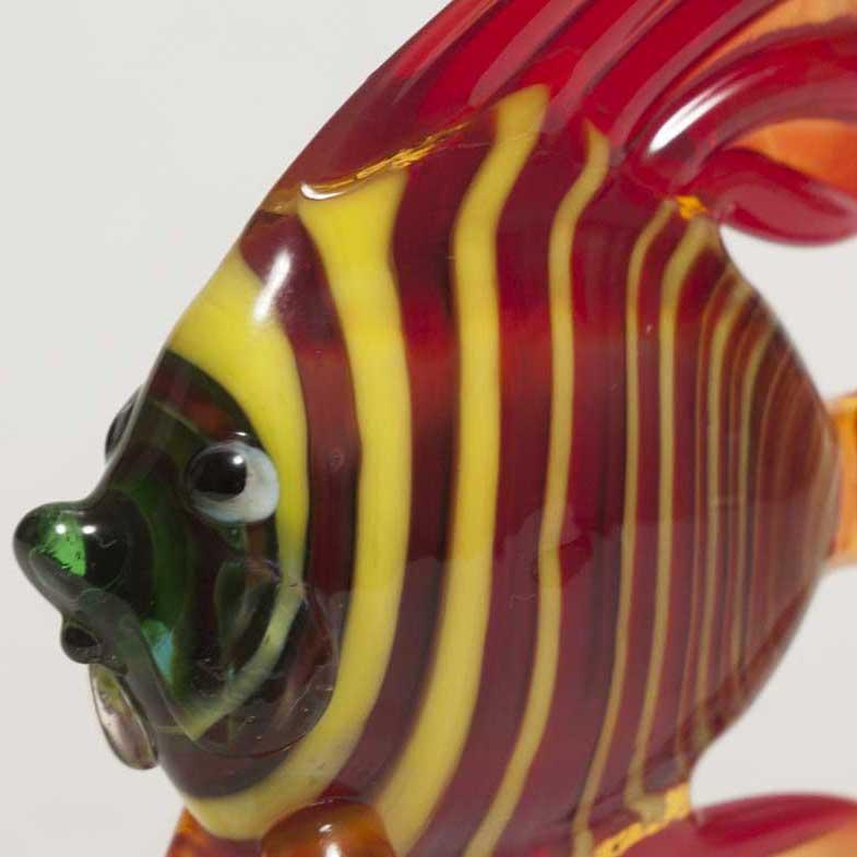 Фигурка стеклянная рыба скалярия