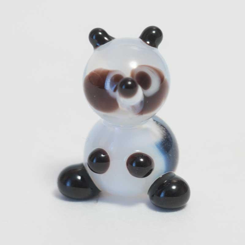Панда стеклянная фигурка Миниатюрные
