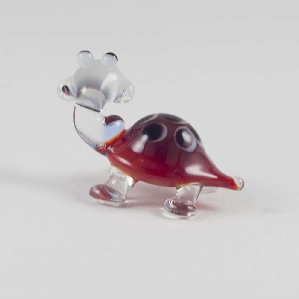 Черепаха стеклянная фигурка, фото 3