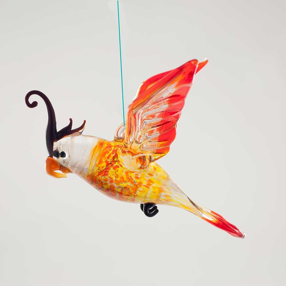 Фигурка висящая Попугай, фото 4