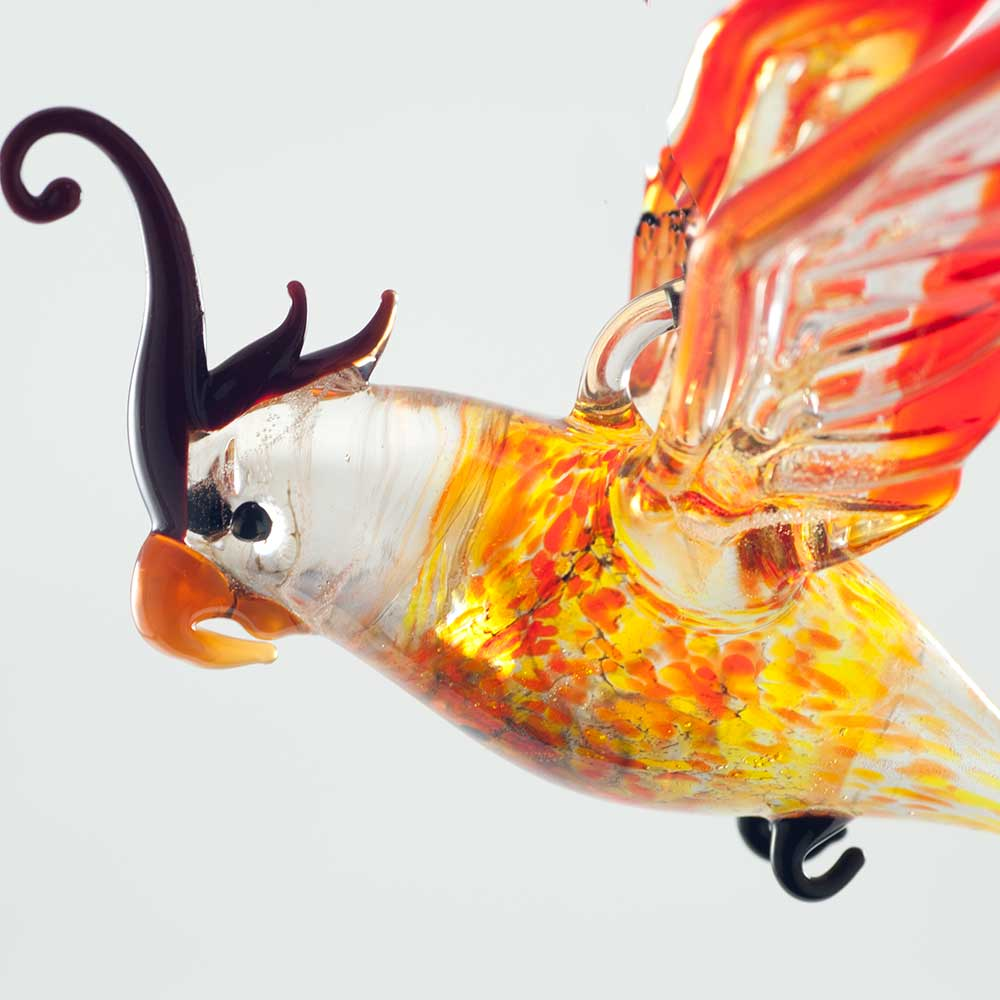 Фигурка висящая Попугай, фото 5