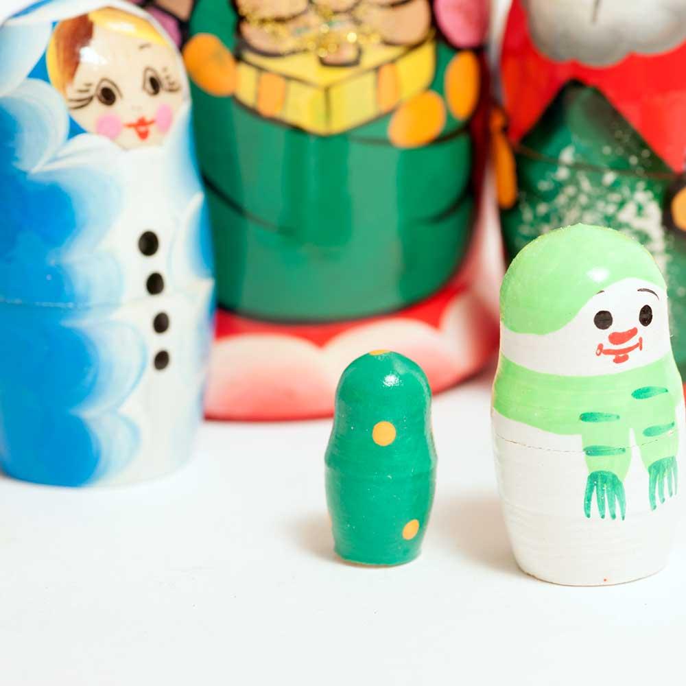 Набор матрешек Новогодний, фото 9