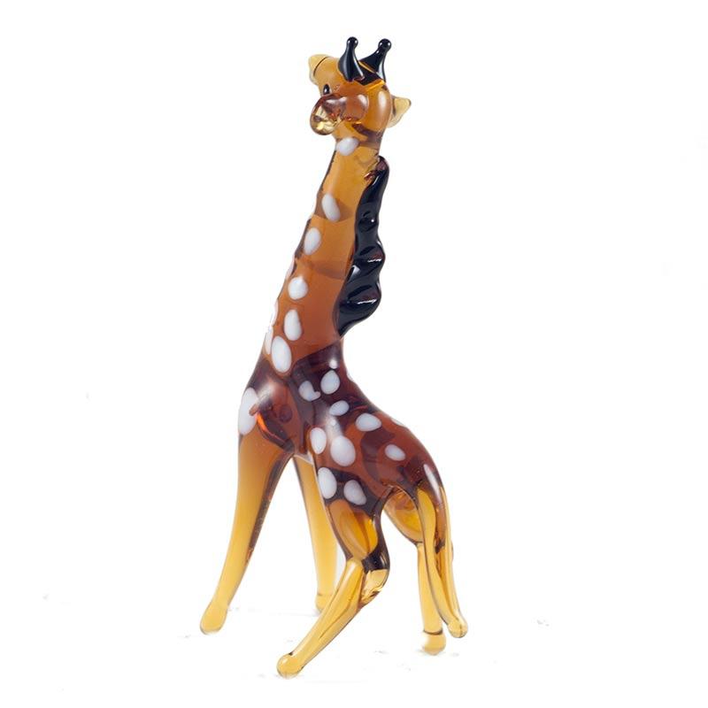 Cтеклянная фигурка жираф, фото 3