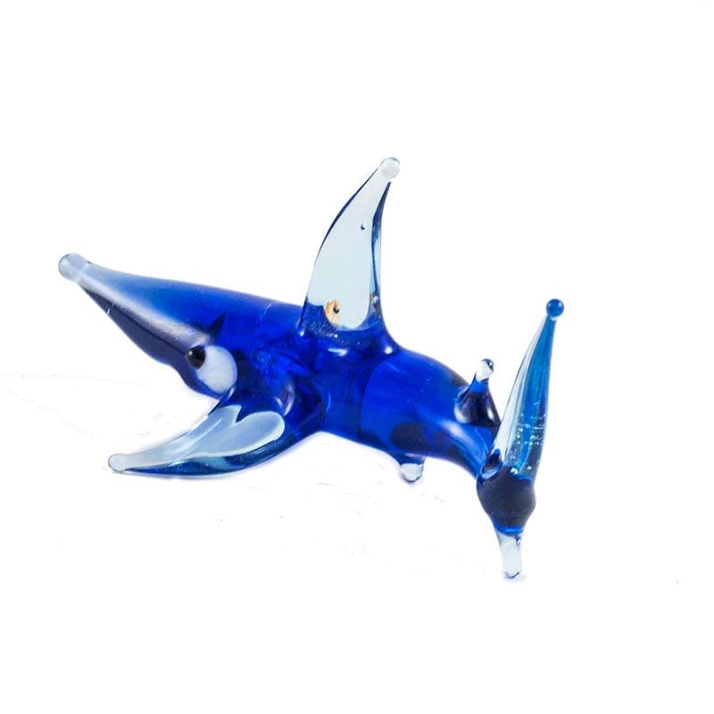 Акула стеклянная фигурка, фото 2