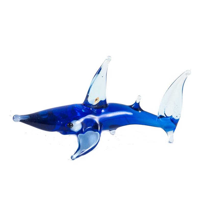 Акула стеклянная фигурка, фото 3