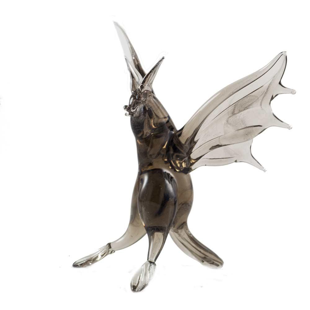 Летучая мышь фигурка стеклянная, фото 1