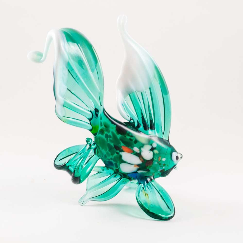 Рыбка зеленая фигурка, фото 2