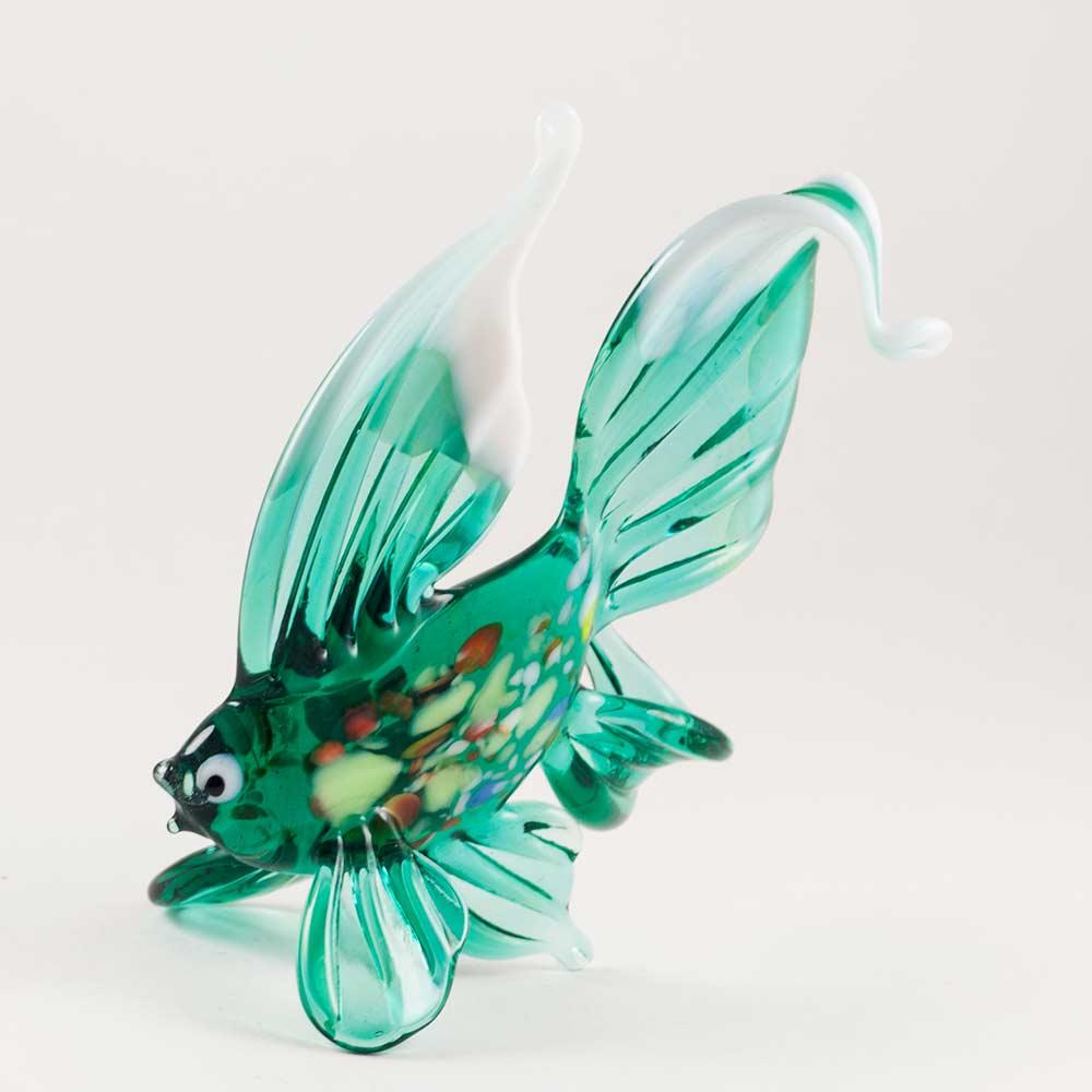 Рыбка зеленая фигурка, фото 4