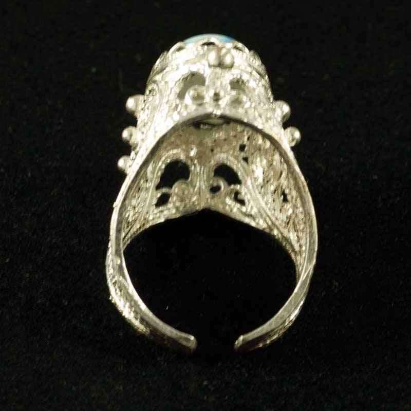 Кольцо финифть Сударушка, фото 3