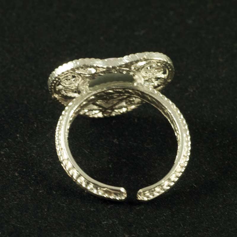 Кольцо финифть Сердечко, фото 3