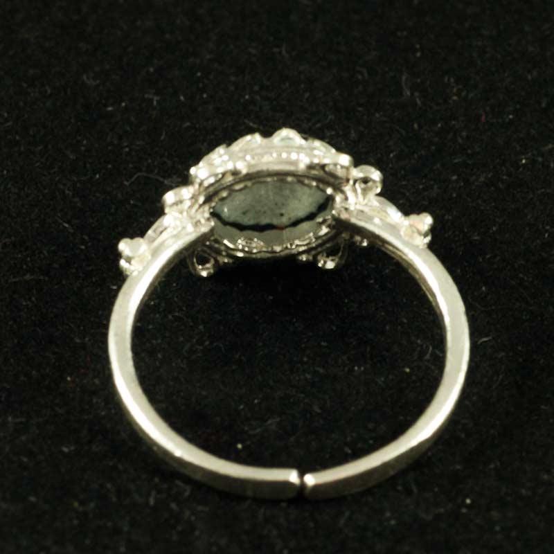 Кольцо финифть Земляничка зеленое, фото 4