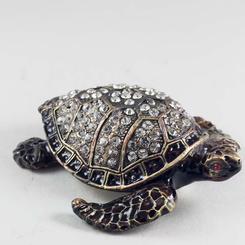 Шкатулка Черепаха черная, фото 2