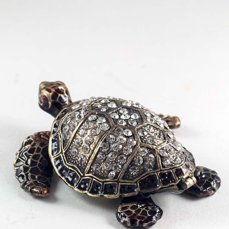 Шкатулка Черепаха черная, фото 4