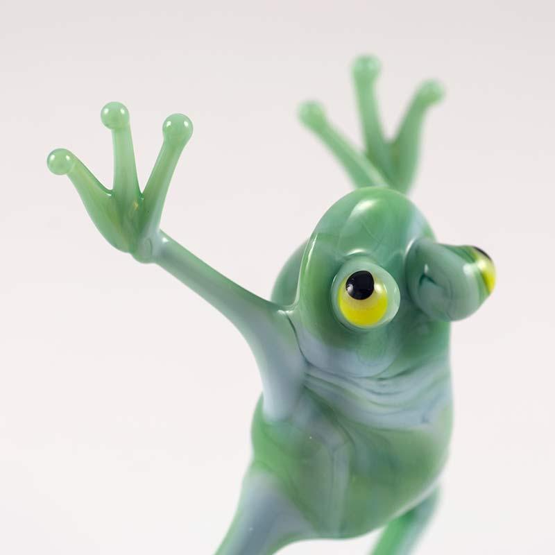 Лягушечка зеленая танцующая, фото 4