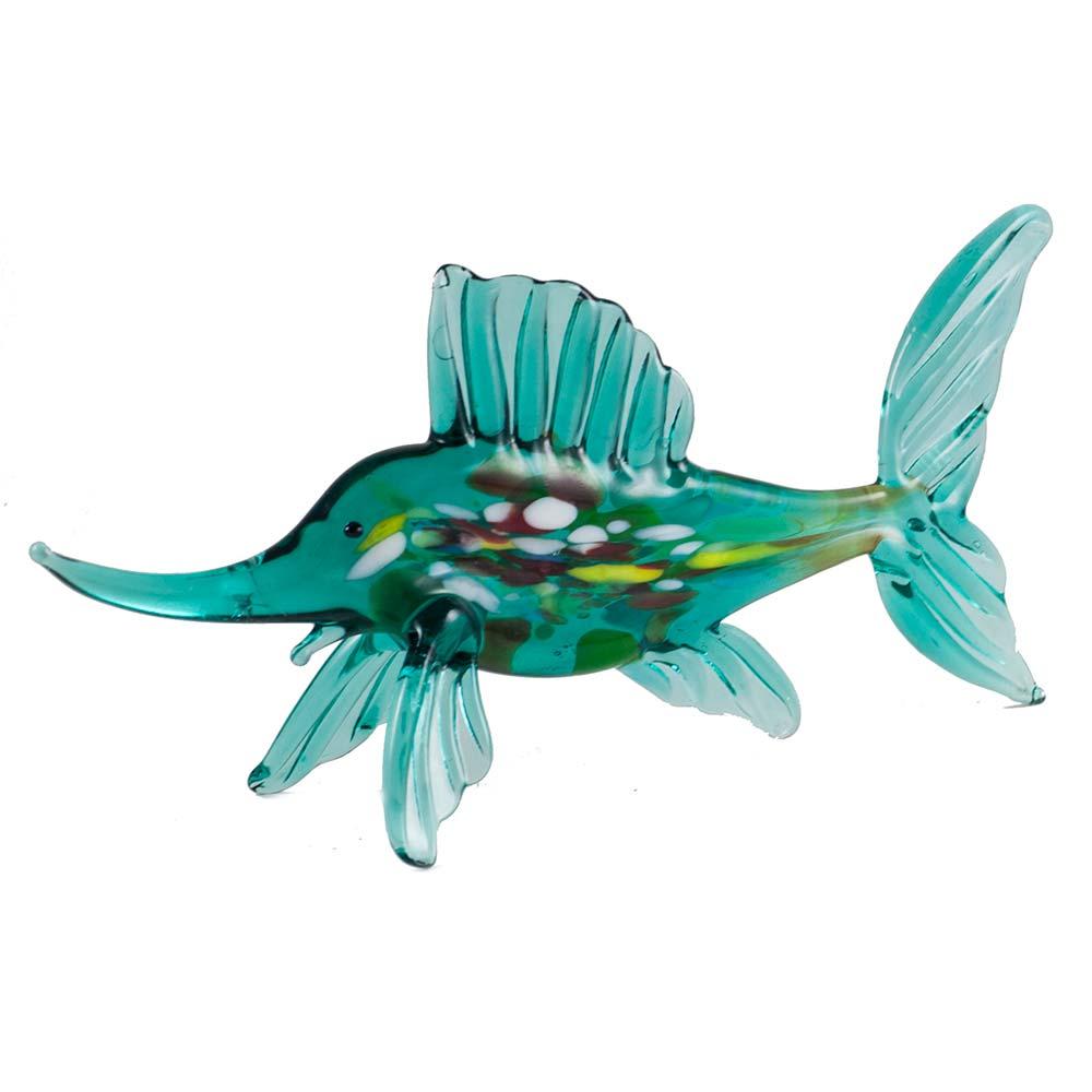 Рыба парусник зеленая, фото 3