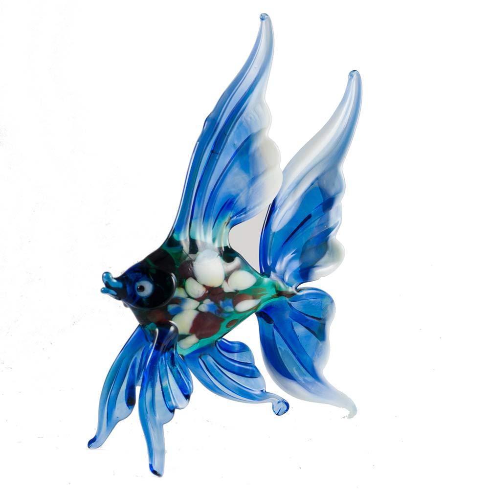 Рыба синяя фигурка, фото 2