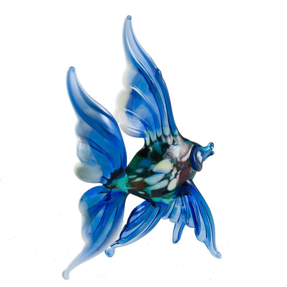 Рыба синяя фигурка, фото 3