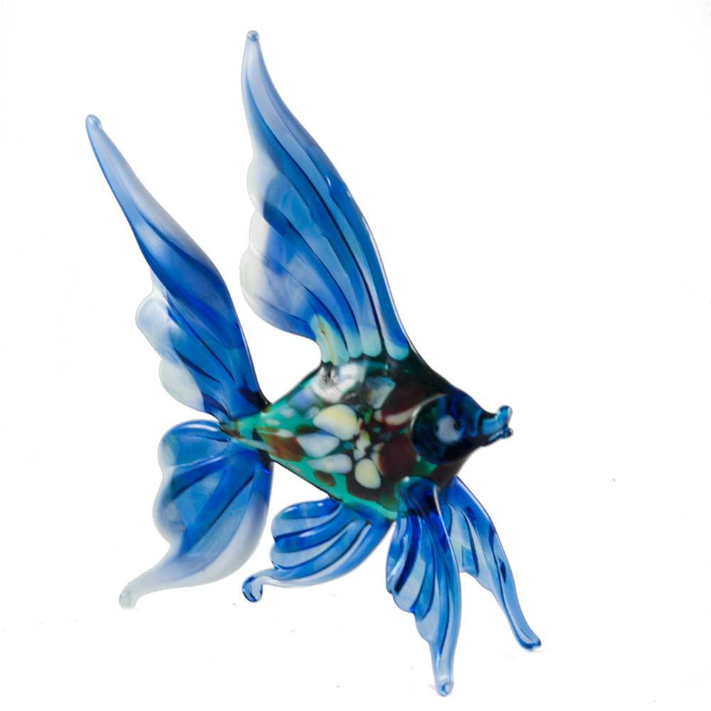 Рыба синяя фигурка, фото 4