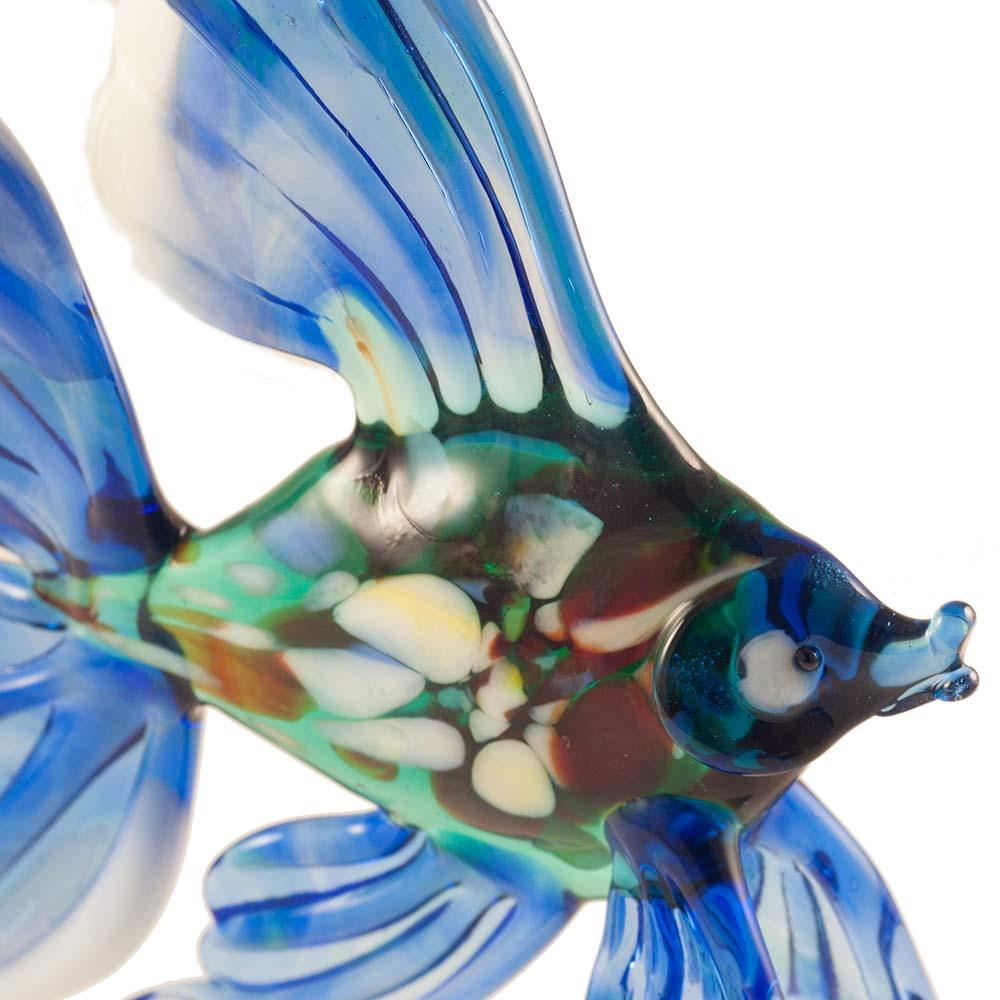 Рыба синяя фигурка, фото 5