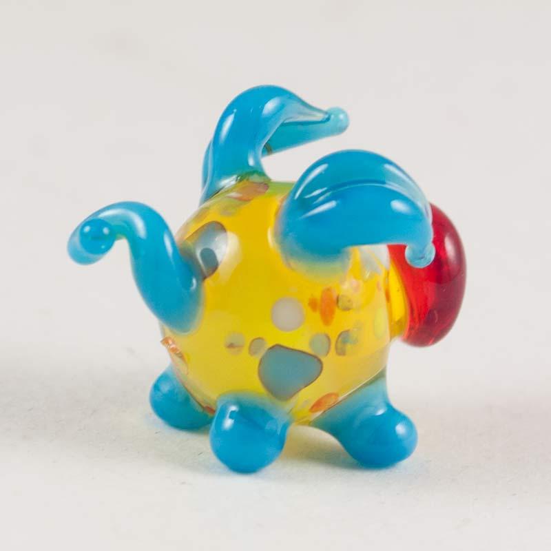 Свинка синяя фигурка, фото 2