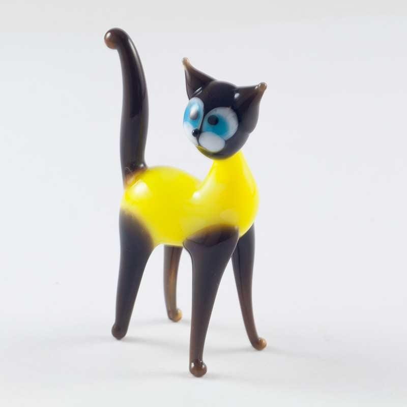 Фигурка желтый кот, фото 2
