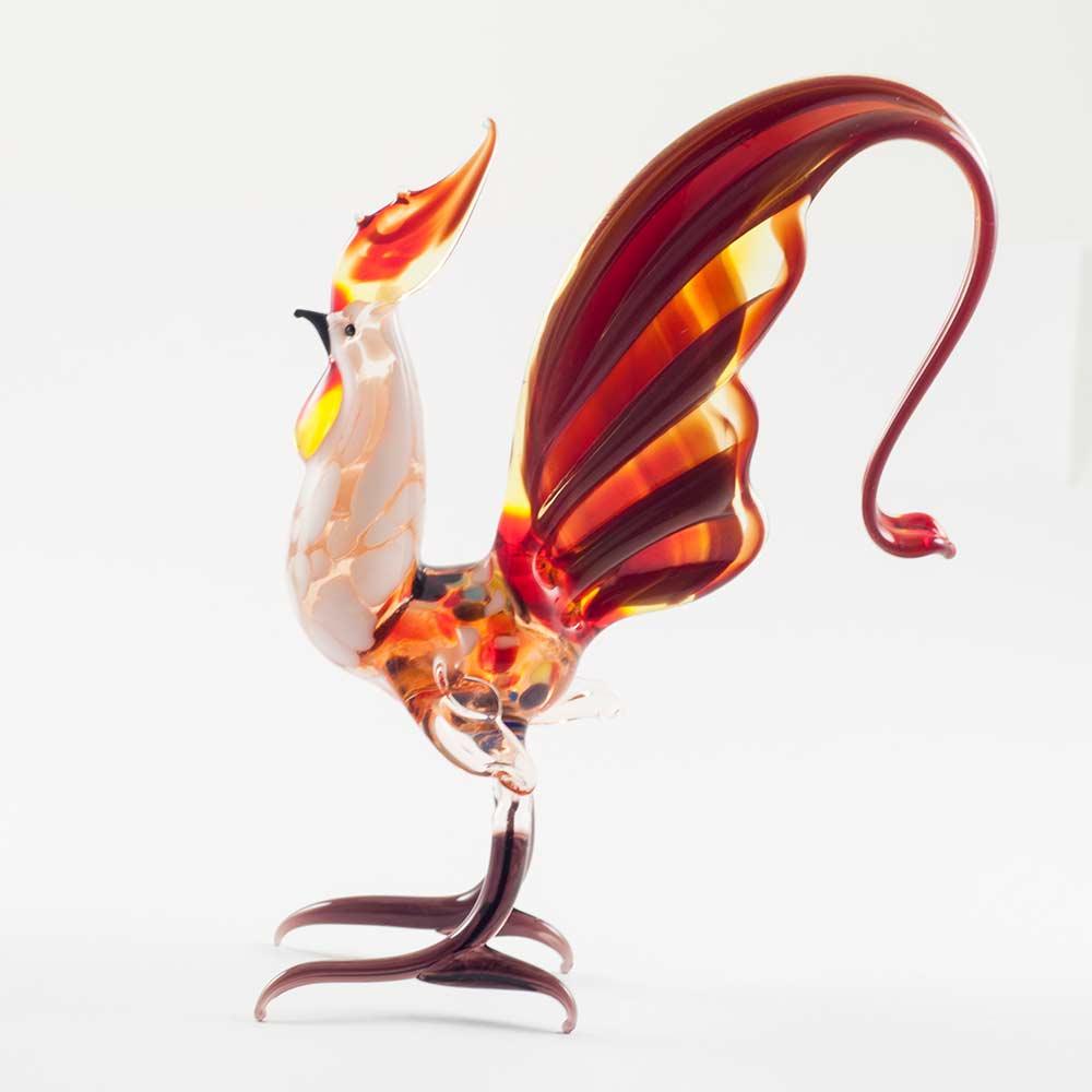 Петушок с темно-красным хвостом, фото 3