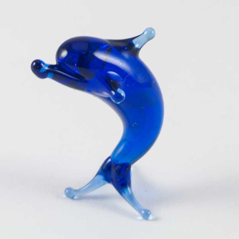 Дельфин стеклянная фигурка, фото 2