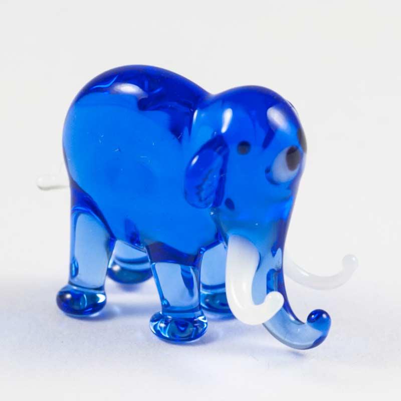 Синий слоник Миниатюрные