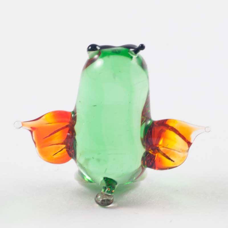Сова зеленая миниатюрная фигурка Миниатюрные
