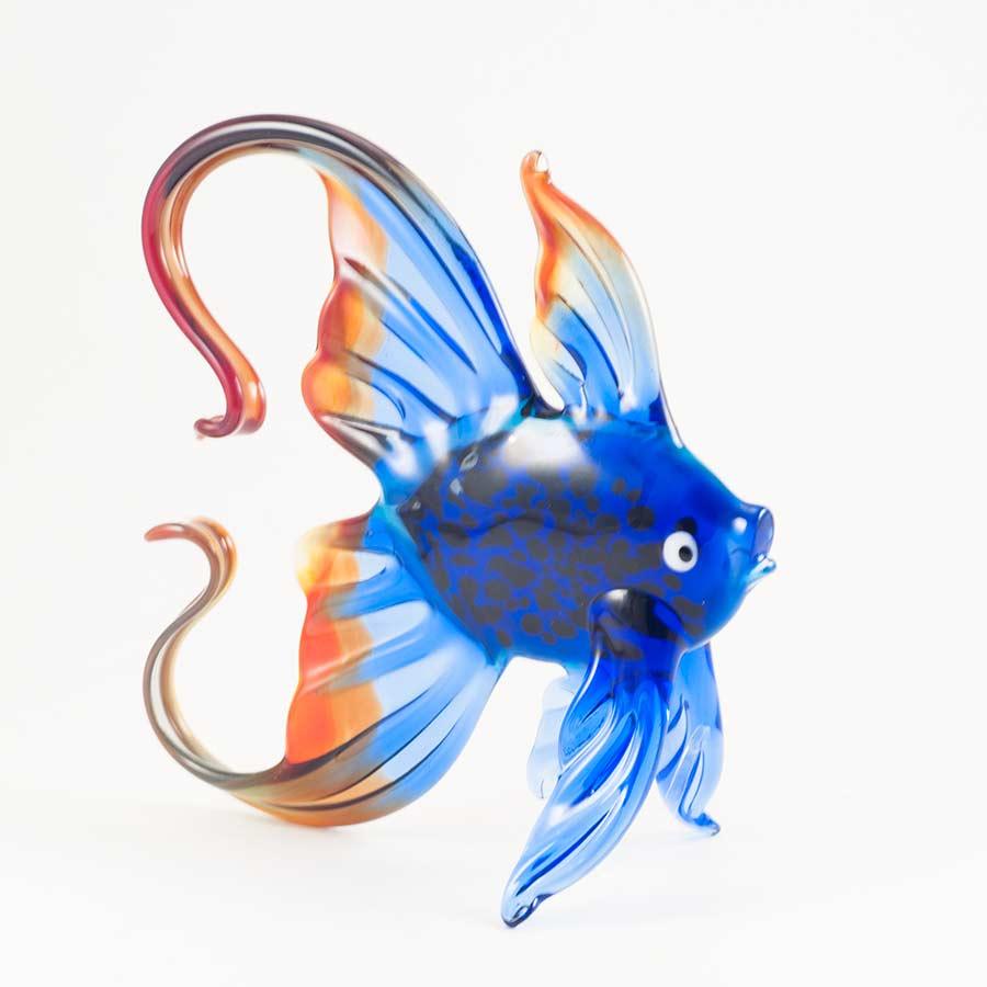 Рыба сине-красная фигурка Рыбы