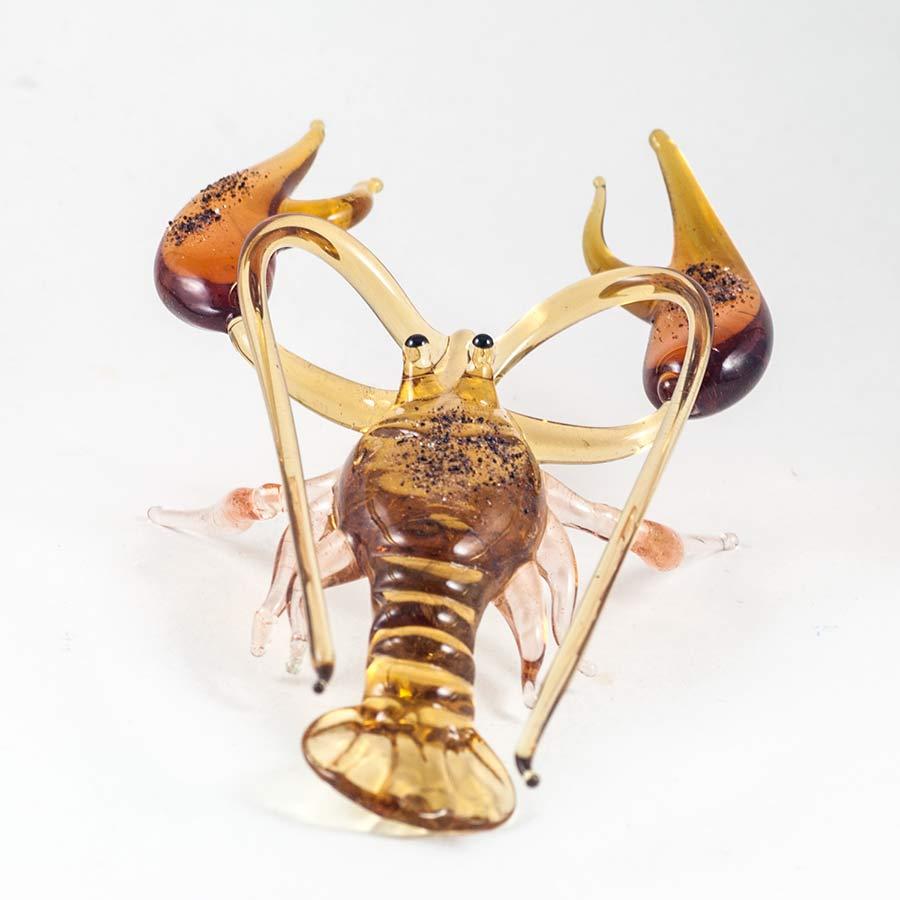 Стеклянная фигурка Рак Рыбы