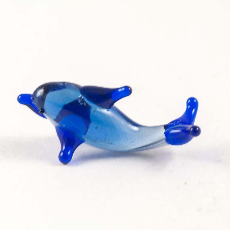 Дельфин стеклянная фигурка Миниатюрные