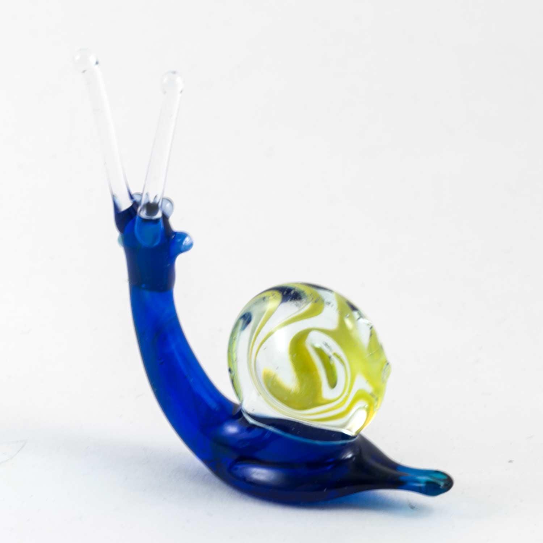 Улитка стеклянная синяя Насекомые