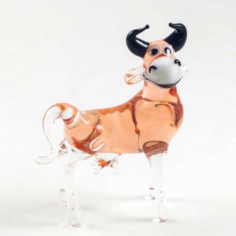 Веселая коровка Животные