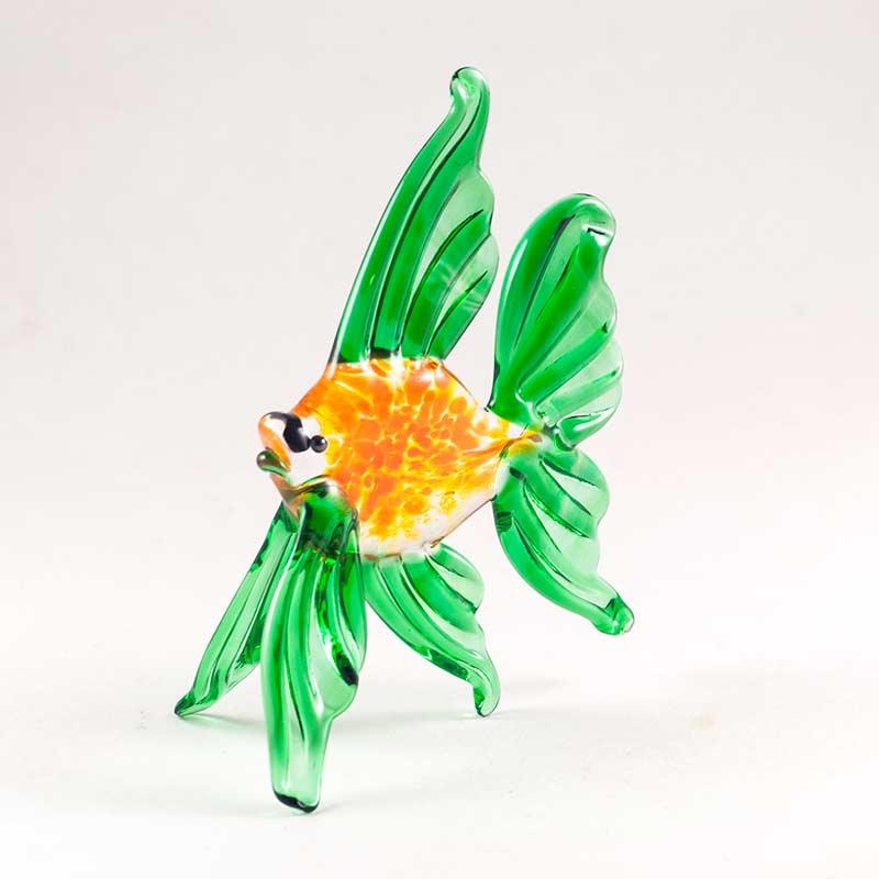 Рыбка фигурка стеклянная Рыбы