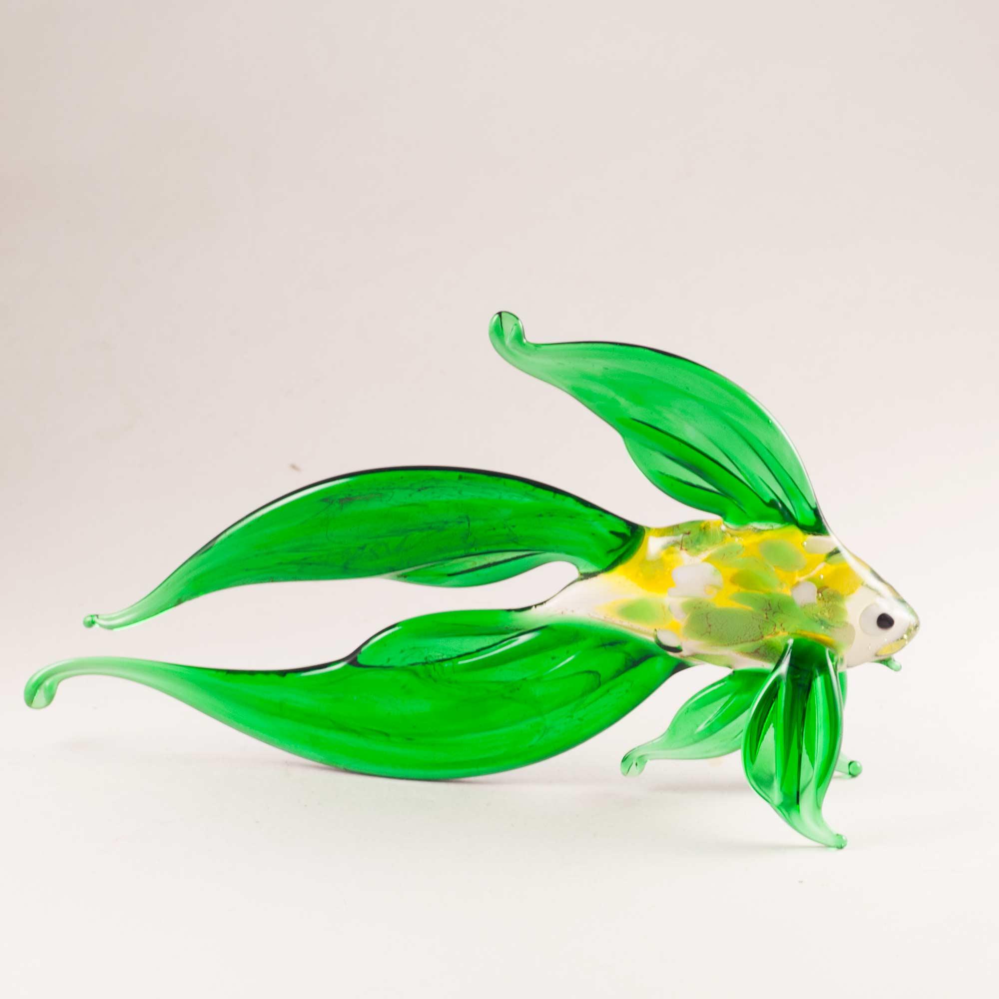 Фигурка Рыба зеленая Рыбы