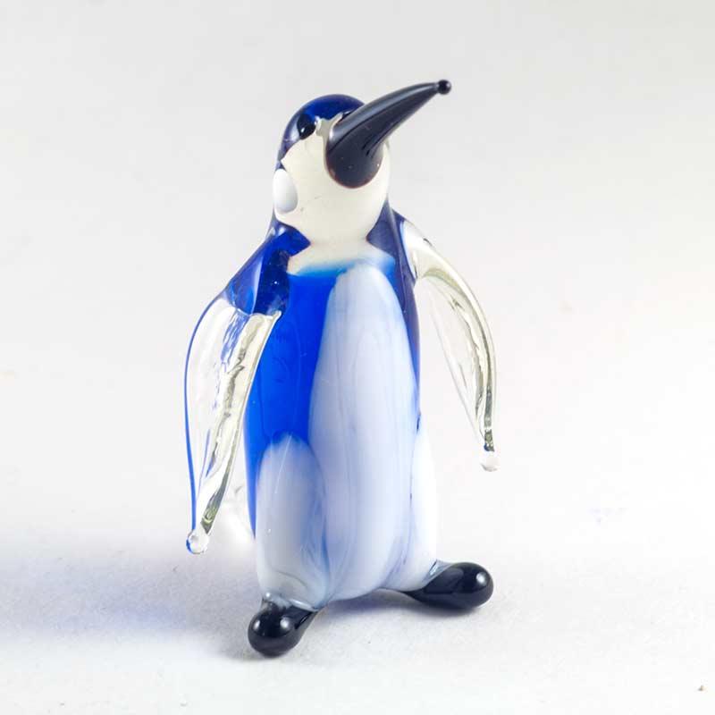 Пингвин королевский фигурка из стекла Птицы