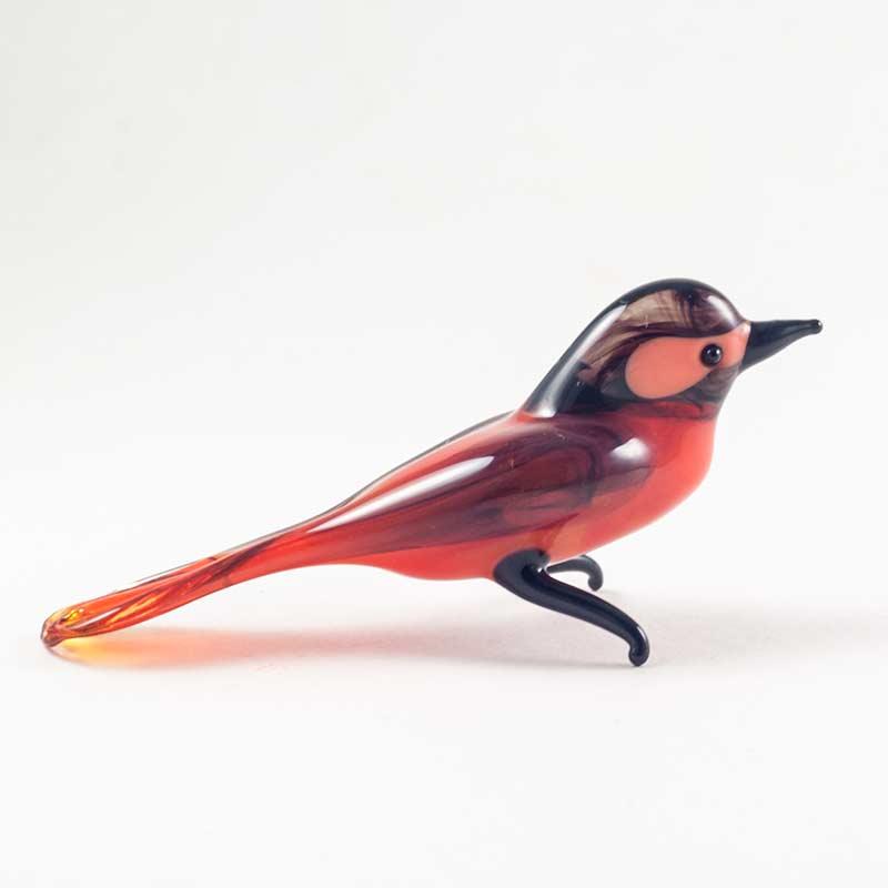 Клест стеклянная фигурка Птицы