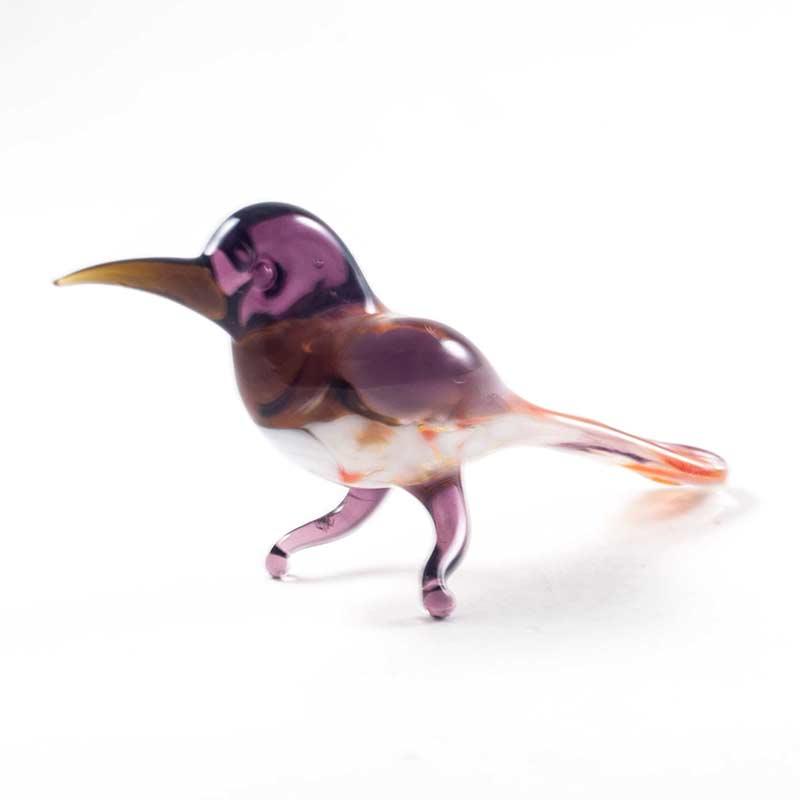 Сорока фигурка из стекла Птицы
