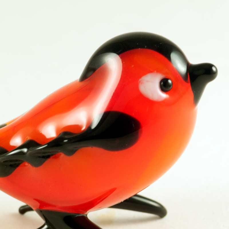 Снегирь фигурка красная Птицы
