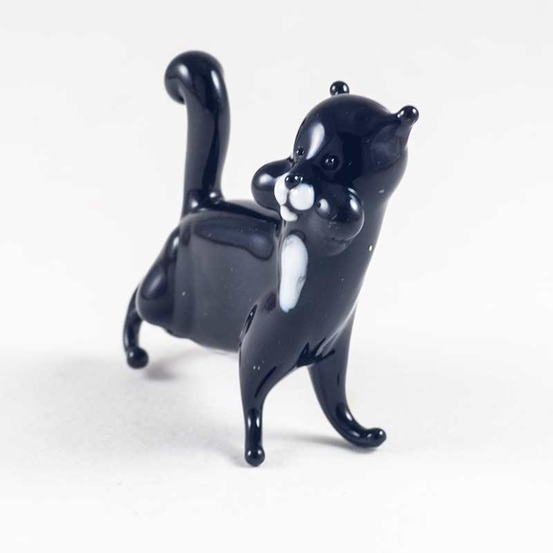 Котик черный фигурка Коты