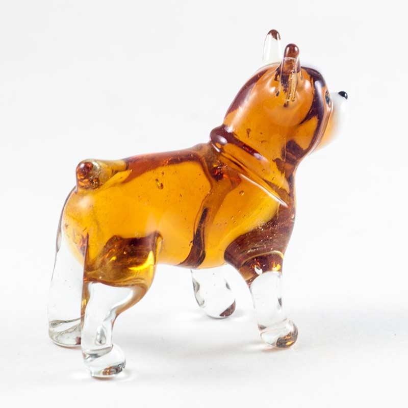 Английский бульдог стеклянная фигурка Собаки