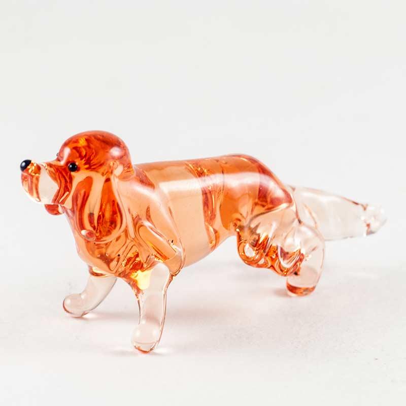 Ретривер стеклянная фигурка Собаки